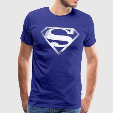 DC Comics Originals Superman Retro Symbol - Männer Premium T-Shirt