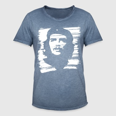 Che Guevara Painted - Vintage-T-skjorte for menn
