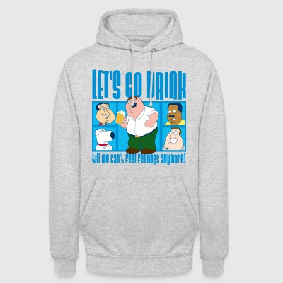 Family Guy Peter Griffin Let's Go Drink - Unisex Hoodie