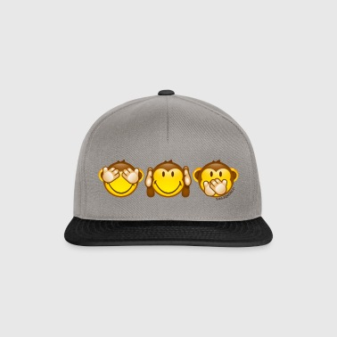 SmileyWorld Three Mystic Apes - Snapback Cap