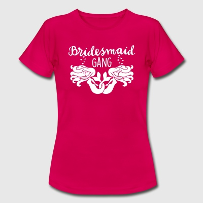 JGA - Braut - Bride - Brautjungfer - Team - 1C T-Shirts - Frauen T-Shirt