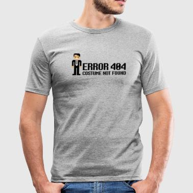 Error 404  - Costume not found T-shirts - Slim Fit T-shirt herr
