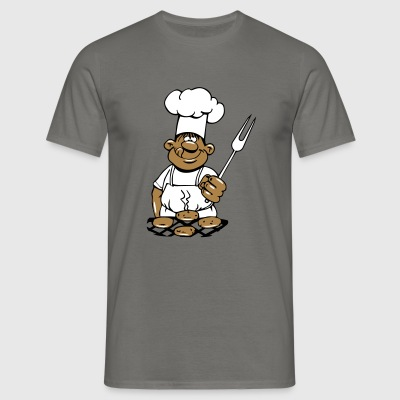 barbecue cuire cuisine barbecue Tee shirts - T-shirt Homme