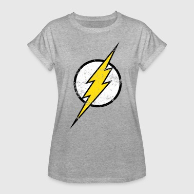 DC Comics Ligue De Justice D'Amérique Flash Logo - T-shirt oversize Femme