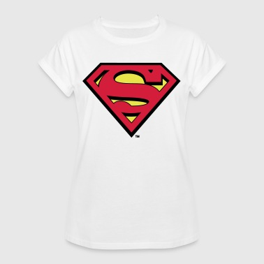 DC Comics Superman Logo Original - Frauen Oversize T-Shirt