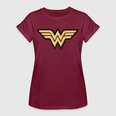 DC Comics Wonder Woman Logo Original - Frauen Oversize T-Shirt