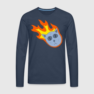 Catsteroid! Long sleeve shirts - Men's Premium Longsleeve Shirt