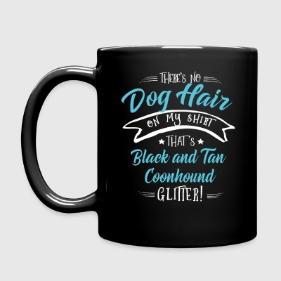 Black and Tan Coonhound Mugs & Drinkware - Full Colour Mug