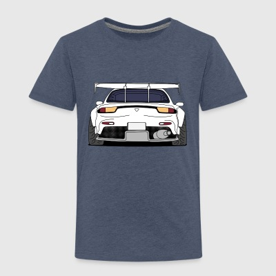 rx7rear white Shirts - Kids' Premium T-Shirt