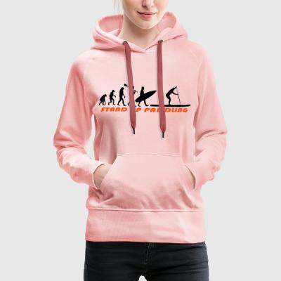 SUP Evolution - Stand Up Paddling Pullover & Hoodies - Frauen Premium Hoodie