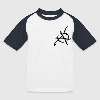ANARCHY T-Shirts - Kinder Baseball T-Shirt