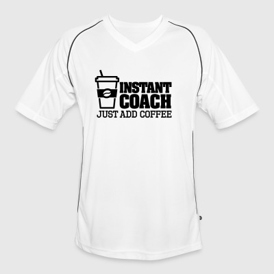 Instant coach just add coffee T-Shirts - Men's Football Jersey