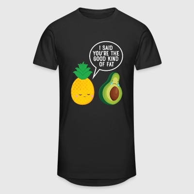 Cute Pineapple & Avocado | You're The Good Fat... T-paidat - Miesten urbaani pitkäpaita