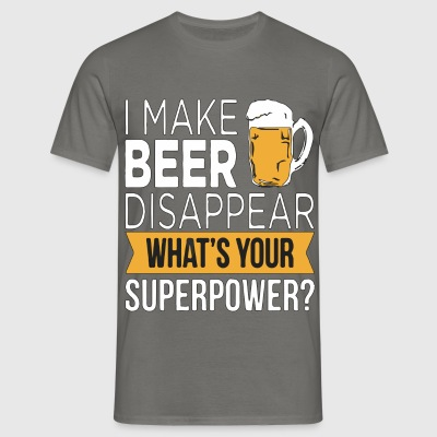 Beer Disappear - T-shirt Homme