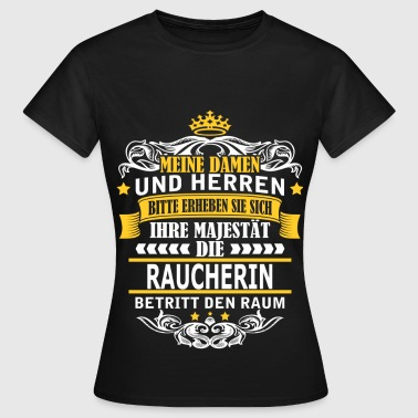 RAUCHERIN T-Shirts - Frauen T-Shirt