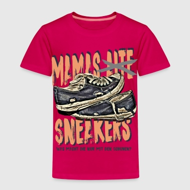 mamas sneakers sohn tochter kind mutti mama T-Shirts - Kinder Premium T-Shirt