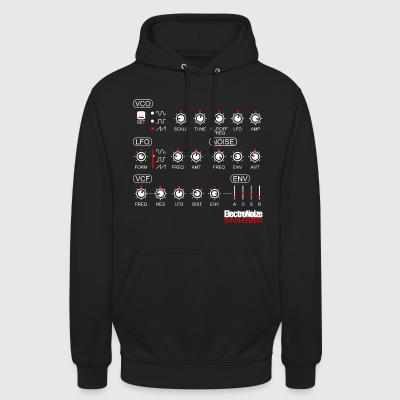 Synthesizer Potis Waveform Musik Klang Synthese DJ Pullover & Hoodies - Unisex Hoodie