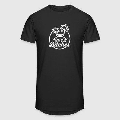 Beer and Bitches T-Shirts - Men's Long Body Urban Tee