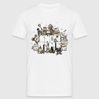 showtime scratchy old - Männer T-Shirt