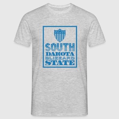 South Dakota blizzard state Tee shirts - T-shirt Homme