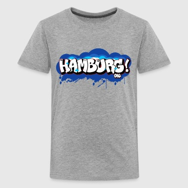 Hamburg - Graffiti - Teenager Premium T-Shirt