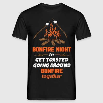 Bonfire Night to Get Toasted... T-Shirts - Men's T-Shirt