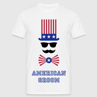 American Groom (Stag Party) T-Shirts - Men's T-Shirt