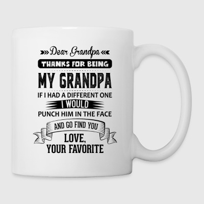 Dear Grandpa, Love, Your Favorite Mugs & Drinkware - Mug