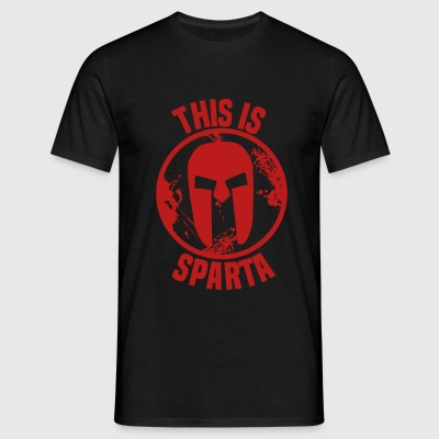 this is sparta T-shirts - Herre-T-shirt