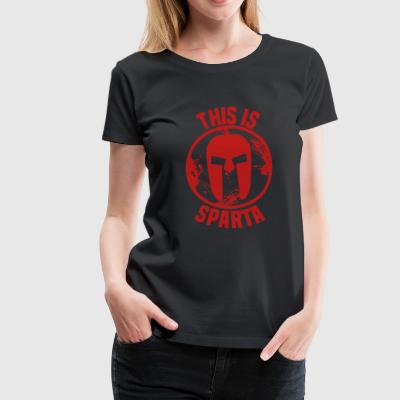 this is sparta T-Shirts - Frauen Premium T-Shirt