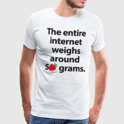 The internet T-Shirts - Men's Premium T-Shirt