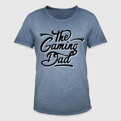 gaming dad T-Shirts - Männer Vintage T-Shirt