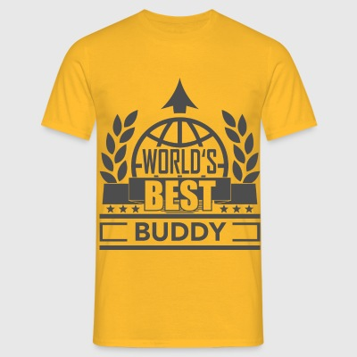 World's best Buddy 1 T-Shirts - Männer T-Shirt