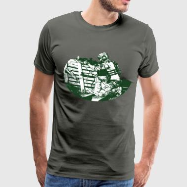 Soldier (green) T-Shirt - Men's Premium T-Shirt
