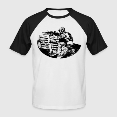 Soldier (black) Baseball T-Shirt - Men's Baseball T-Shirt