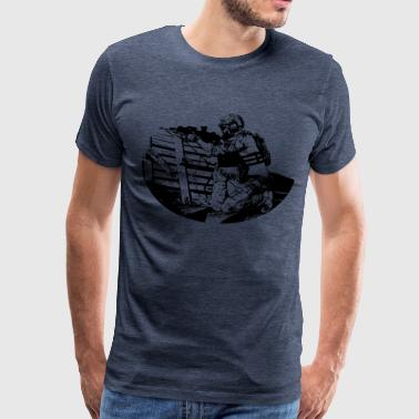 Soldier (black) T-Shirt - Men's Premium T-Shirt