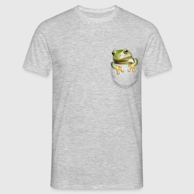 POCKET FROG - Men's T-Shirt