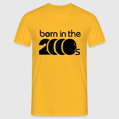 born in the 2000´s Shirt Shirt - Männer T-Shirt
