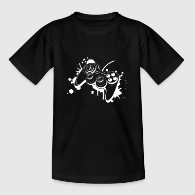 Gamepad Graffiti Shirts - Kids' T-Shirt