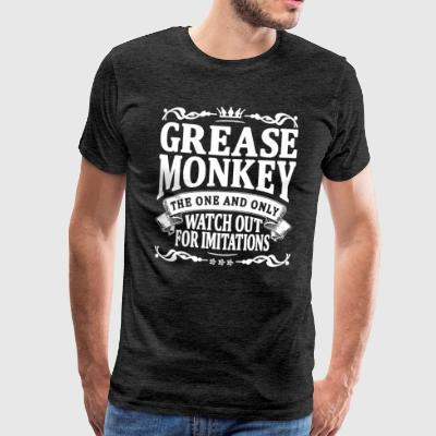 grease monkey the one and only T-Shirts - Men's Premium T-Shirt