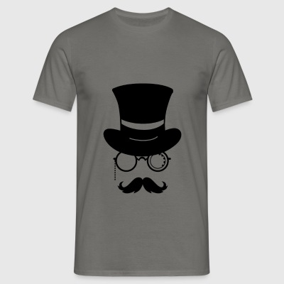Hipster hat and - T-shirt Homme