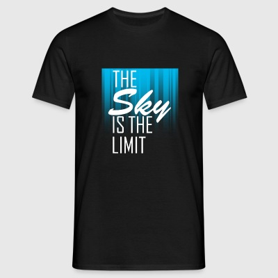 The Sky is the limit 5 T-Shirts - Männer T-Shirt