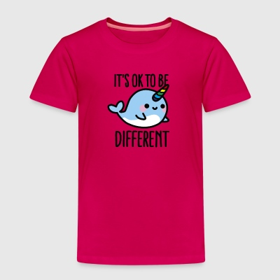 It's ok to be different T-shirts - Premium-T-shirt barn