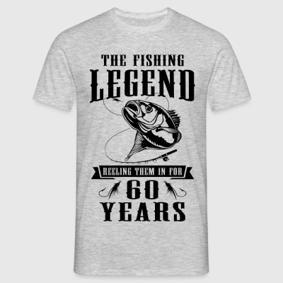 The Fishing Legend Reeling Them In For 60 Years T-Shirts - Men's T-Shirt