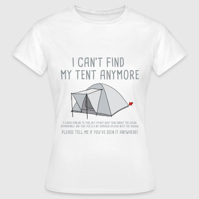 festival_i_cant_find_my_tent_anymore_06_ T-Shirts - Frauen T-Shirt