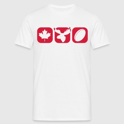 Canada boxes Tee shirts - T-shirt Homme