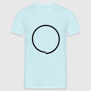 Circle obsessive - T-shirt Homme