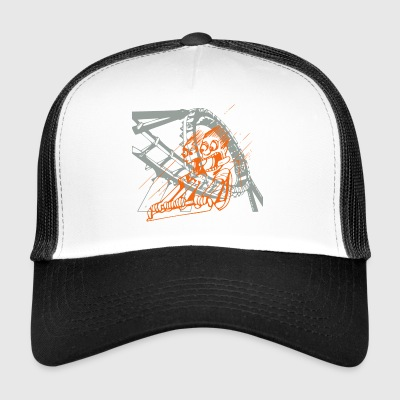 Roller Coaster Caps & Hats - Trucker Cap