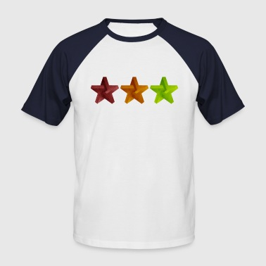 Star Geometry Baseball T-Shirt - Men's Baseball T-Shirt