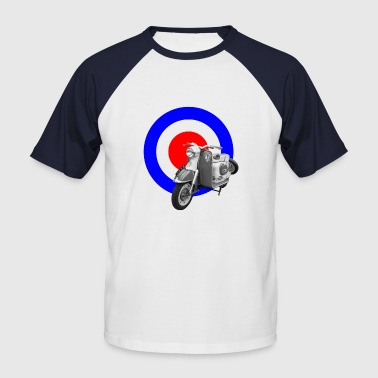 Scooter Target Baseball T-shirt - Men's Baseball T-Shirt
